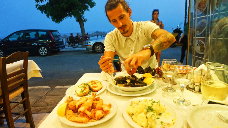 <recipes>U ANTONIEGO | NEA KALIKRATIA | GRECJA</recipes>
