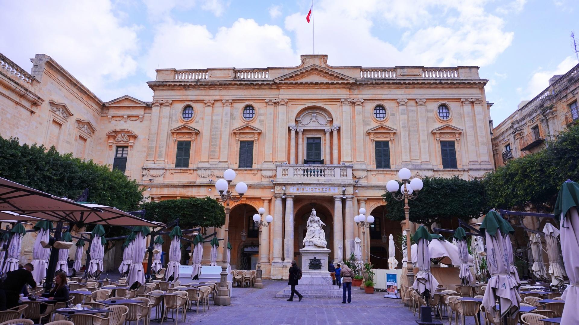 Biblioteka w Valletcie, Malta | Sway the way