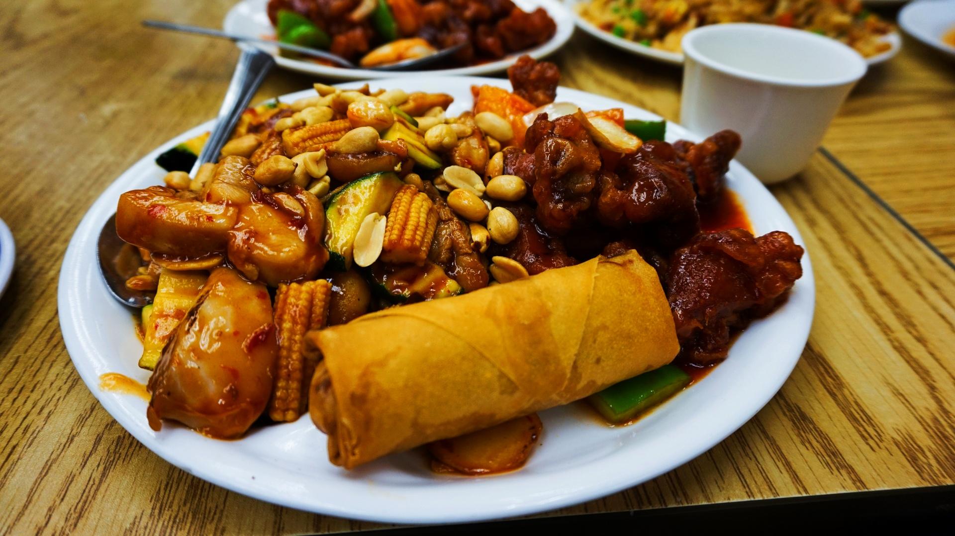 Chińska potrawa w Chinatown, San Francisco, USA | Sway the way