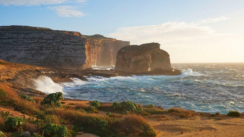 Wyspa Gozo Marsalforn