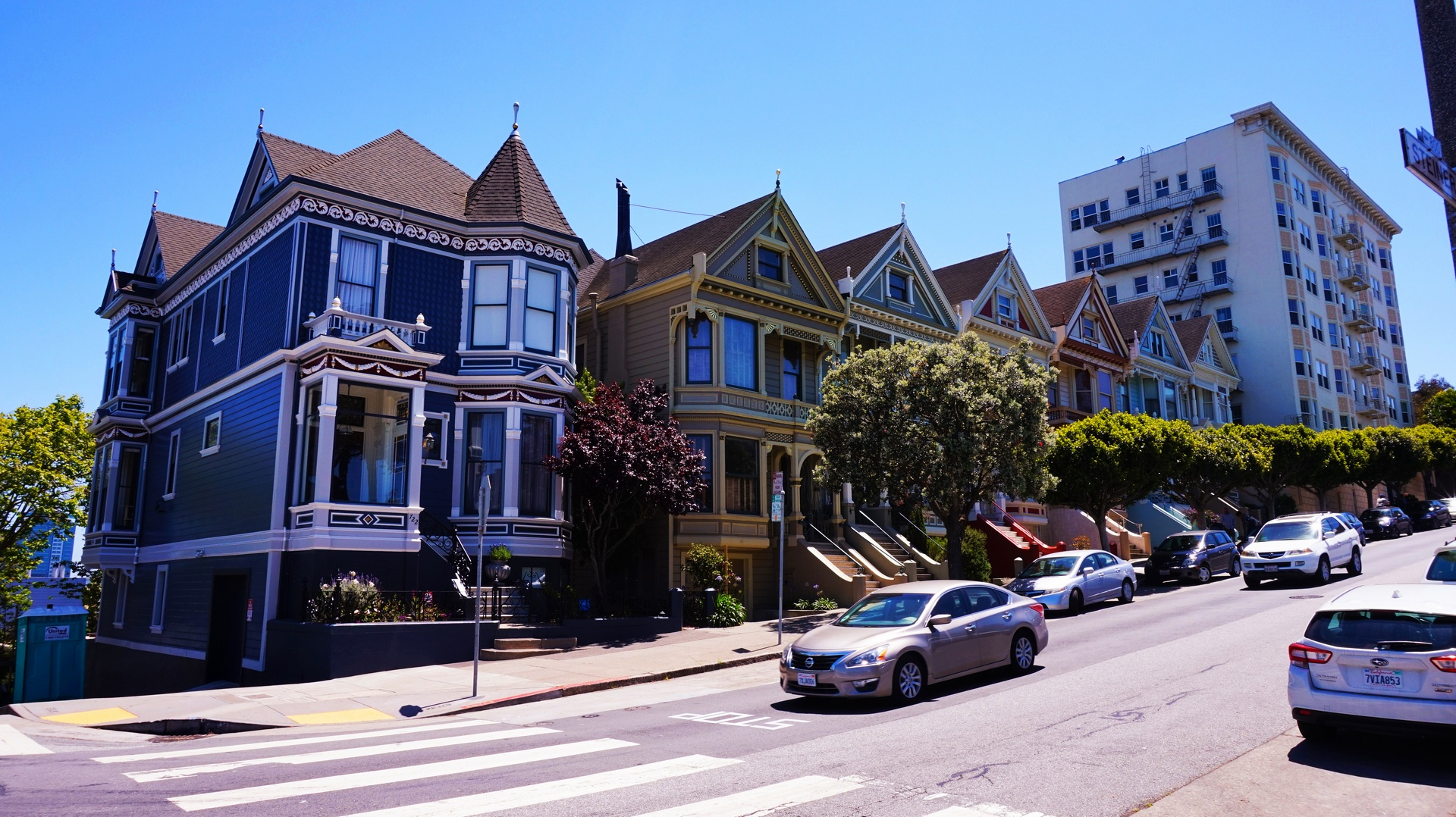 Painted Ladies w Alamo Square w San Francisco, USA | Sway the way