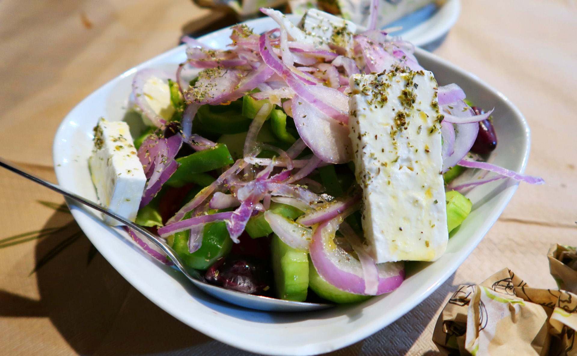 sway the way greek salad