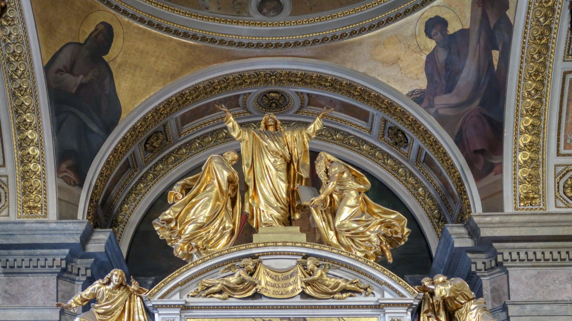 Sway the way petersburg Sobór Kazańskiej Ikony Matki Bożej wnętrze2